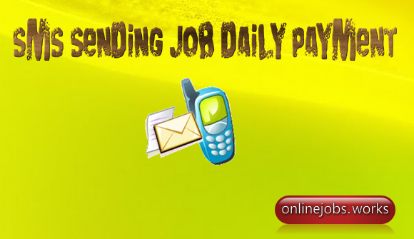SMS sending job daily payment
