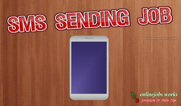 SMS Job at Home