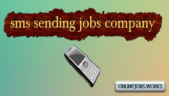 sms sending jobs company