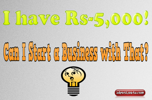 Business Idea under 5K
