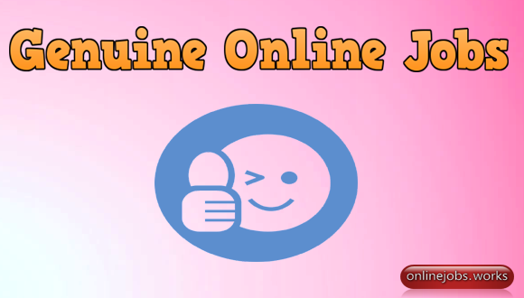 Genuine Online Jobs