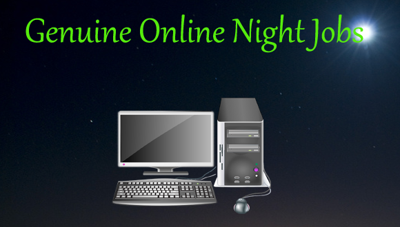 10 Genuine Online Night Jobs for Students & Retired Person of India