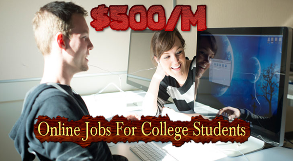 Online Jobs For Students that Pay $500/month[Apply Graduate]