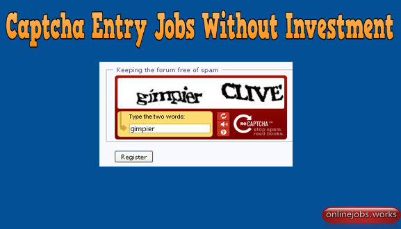 Online Captcha Entry Jobs Without Investment. Best Typing Work From Home. Free Registration Captcha Work Sites List To Earn Money. Contact now for software.