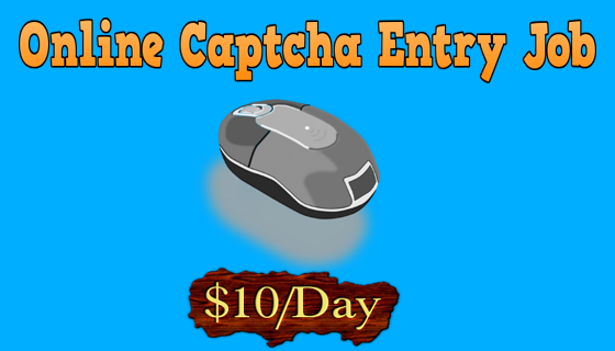 Top 10 FREE Online Captcha Entry Job to Earn Daily $30 [Updated]