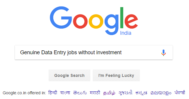 6 Genuine Offline Data Entry Jobs Without Investment [GOVT