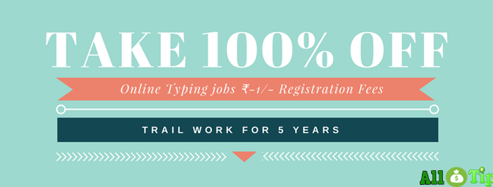FREE Online typing jobs without investment and registration fees